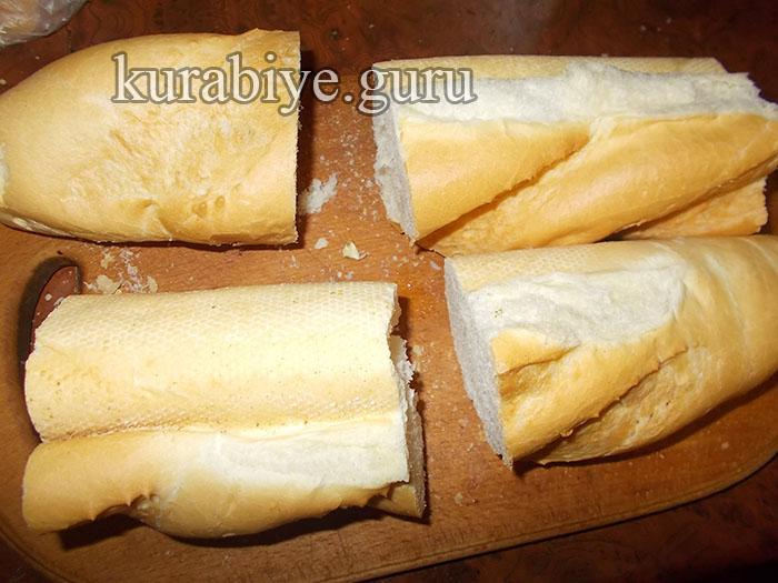 багет с курицей и сыром рецепт