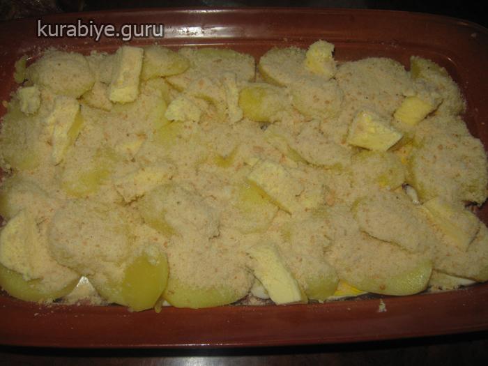 Запеканка из картофельного пюре и фарша в духовке с фото