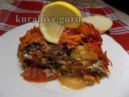 Рыба тушеная с луком и морковью