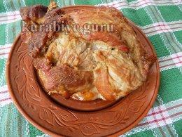 Имбирная буженина с карамелизированным луком