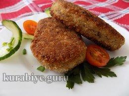 Рыбные зразы с яйцом и луком