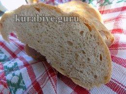 Хлеб пшеничный в духовке