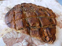 Слоёный маковый пирог