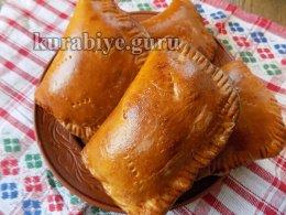 Пирожки со шпинатно-сырной начинкой