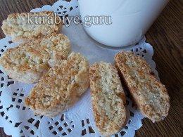 Лимонно-кунжутное печенье