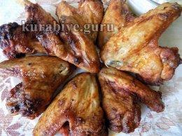 Куриные крылышки по-мароккански