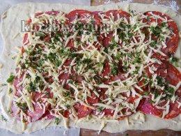Стромболи,  самая вкусная пицца-рулет