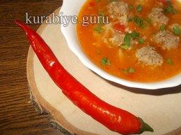 Альбондигас –  мексиканский суп с фрикадельками