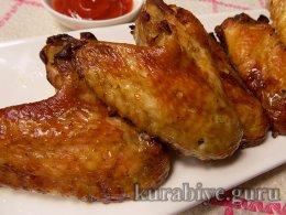 Куриные крылышки запечённые по-эфиопски