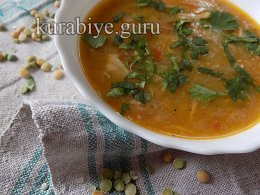Суп гороховый с имбирём