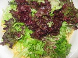 Лёгкий куриный салат, рецепт с фото