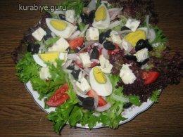 Каталонский салат, рецепт