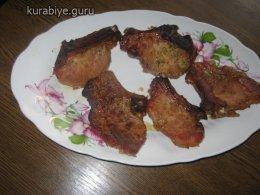 Имбирные свиные стейки в духовке