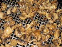 Рагу из свинины и грибов с полентой