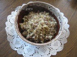 Булгур по-ливански с фаршем