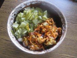 Самый любимый постный салат с фасолью