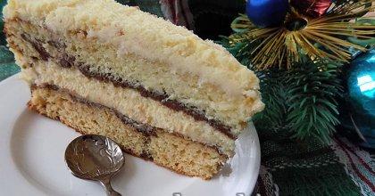Пляцок Наслаждение — торт на сгущённом молоке