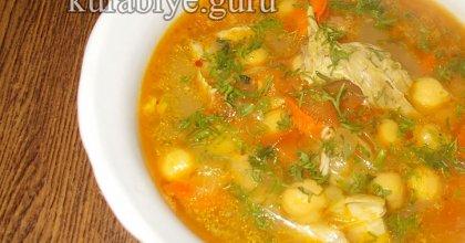 Марокканский суп с нутом