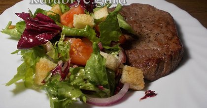 Лёгкий салат к мясу
