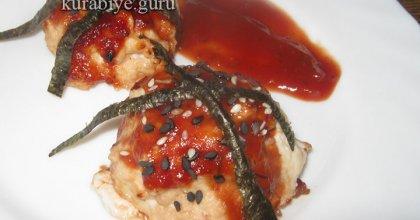 Цукуне – куриные фрикадельки по-японски