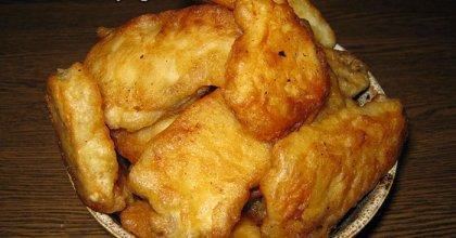 Куриное филе в пивном кляре
