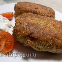 Гречаники с яично-сырной начинкой