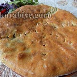 Фыджин, пирог с мясом по-осетински