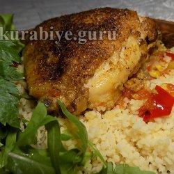 Курица по-сирийски с кускусом