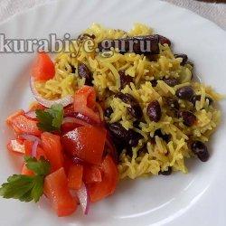 Пряный рис с фасолью