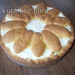 Творожный пирог «Подсолнух»
