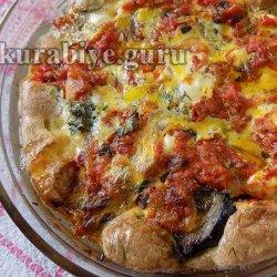 Запеканка из баклажанов с томатами и фетой
