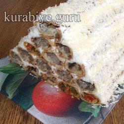 Закусочный торт Пикантный
