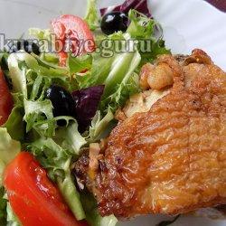 Лимонно-чесночная курица в сливочном соусе