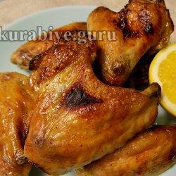 Куриные крылышки в лимонном маринаде с водкой