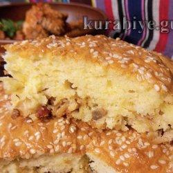 Пирог с квашеной капустой