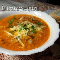 Куриный суп по-пармски