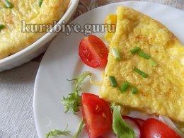 Лепёшка с сыром бри на завтрак