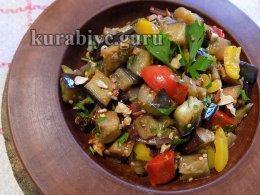 Салат из баклажанов по-мароккански