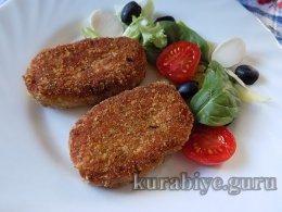 Рыбные зразы с сырной начинкой