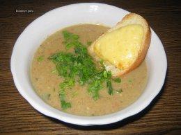 Крем-суп из запечённых овощей по-провански