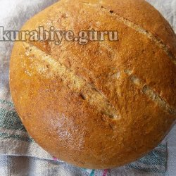 Пшенично-ржаной хлеб на кефире