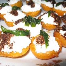 Закуска с творогом и абрикосами